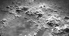 Montes Apenninus on the Moon was formed by an impact event.