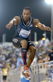 Nelson Évora won gold in triple jump at the 2008 Beijing Olympics.