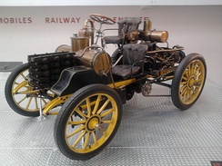 Rennzweier, the first race car made by the company in 1900