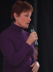 Pauline Hanson, leader of One Nation