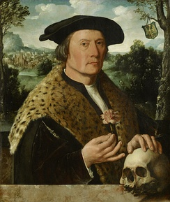Pompeius Occo (1483–1537) came from a north German family and grew up in Augsburg. In 1511 he settled in Amsterdam as a representative of the Fugger banking house and business firm of Augsburg.
