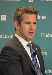 Kinzinger speaking at Hudson Institute.