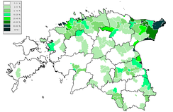Russophone population in Estonia