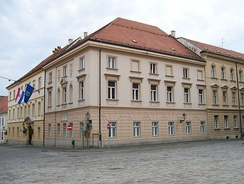 The old town hall, today the building of the Zagreb City Assembly