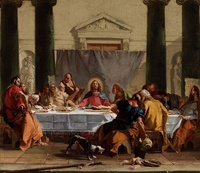 Last Supper by Tiepolo