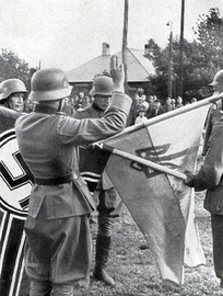 Ukrainian Liberation Army oath to Adolf Hitler