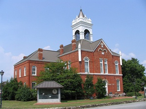 Old Union County Courthouse in Blairsville