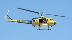 Ventura County Sheriff's Department Air Unit Fire Support Bell HH-1H