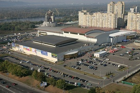 International Exhibition Centre, Kyiv - host venue of the 2017 contest