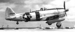 16th Fighter Squadron P-47D Thunderbolt[note 2]