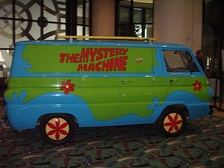 The Mystery Machine at the 2011 Greater Milwaukee Auto Show.