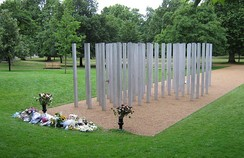 The 7 July Memorial in Hyde Park