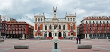 Valladolid City Hall in Plaza Mayor, the seat of the City Council of Valladolid.