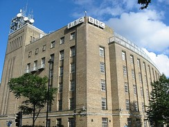 Broadcasting House, Belfast, home of BBC Northern Ireland