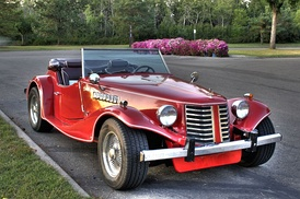 A Bernardi roadster, from the Blakely Auto Works