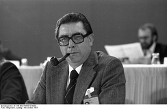 Werner Klumpp, interim Minister-President of the Saarland from 26 June 1979 to 5 July 1979