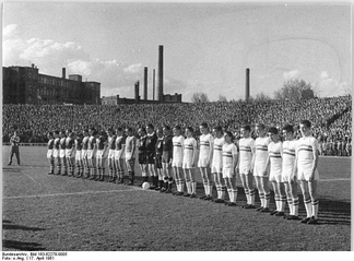 Hungary–East Germany 0–2 in Budapest