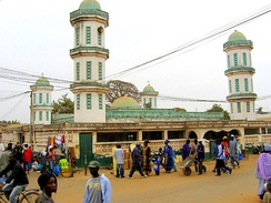 Bundung mosque is one of the largest mosques in Serekunda.