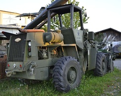 CCC wheel loader built for the U.S. Army