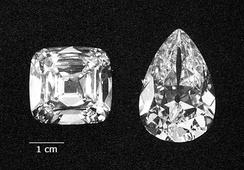 Cullinan diamonds IV and III