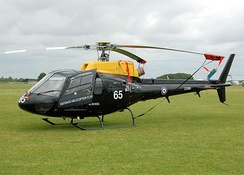 AS.350BB Squirrel HT1 of the (UK) Defence Helicopter Flying School