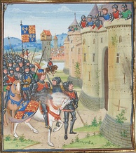 English army at Berwick upon Tweed, 1482