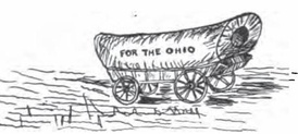 Manasseh Cutler prepared this wagon for the first pioneers to the Ohio Country