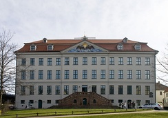Historic Pietist orphanage in Halle, Germany, a center of Pietism