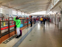 The Beijing Subway is the busiest rapid transit system in the world.