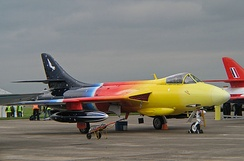 """Miss Demeanour"" – a privately owned Hawker Hunter F.58A, 2007"