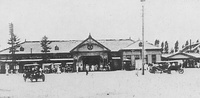 Pyongyang Station during the 1920s