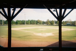 View of field at Henley Field