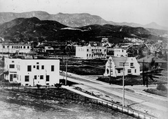 The intersection of Hollywood and Highland, 1907