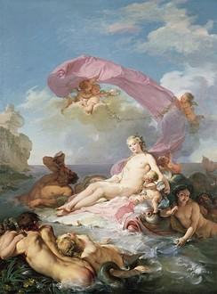 «Триумф Амфитриты». Картина Хагиса Таравала, 1780.