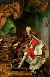 Charles VI, Holy Roman Emperor, with whom Charles was in constant competition.