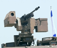 M2 Browning on a Samson RCWS of the Israel Defense Forces