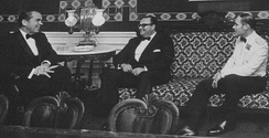 Anastasio Somoza Debayle (center) with Richard Nixon, 1971