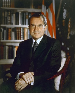 "Nixon to Haldeman, heard on tapes ordered released for the trial of Haldeman, Ehrlichman and Mitchell: ""I don't give a shit what happens. I want you all to stonewall it, let them plead the Fifth Amendment, cover up or anything else, if it'll save it, save this plan. That's the whole point. We're going to protect our people if we can."""