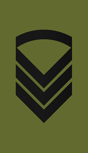 Staff sergeant insignia in the Army of Norway.