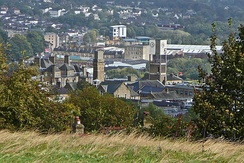 Looking over Shipley from Northcliffe