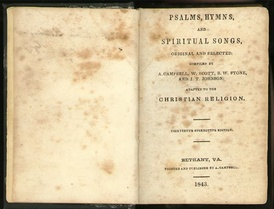 Psalms, Hymns and Spiritual Songs (1843, 13th stereotype ed.)