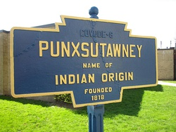 Official logo of Punxsutawney, Pennsylvania