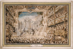 Lully's Armide as performed at the first Salle du Palais-Royal in the revival of 1761