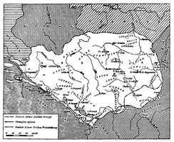 Serbia during the rule of Stefan Nemanja and Stefan II.