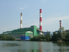 Shatura Power Station. Russia has the largest peat power capacity in the world