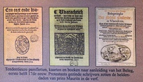 pamphlets regarding the siege