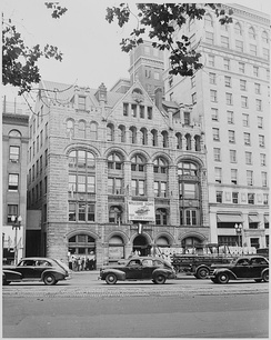 The Washington Post building in 1948