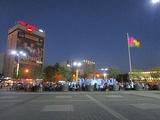 Teatral'naya square, Krasnodar (night).jpg