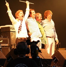 Buzzcocks at the Cropredy Festival in 2009