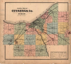 Cuyahoga County in 1874